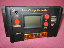 USA SHIP Intelligent 20A PWM Solar Panel Charge Controller Regulator LCD 12V 24V