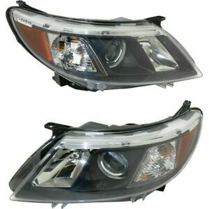 FIT FOR SAAB 9-3 2008 2009 2010 HEADLIGHT RIGHT & LEFT PAIR SET