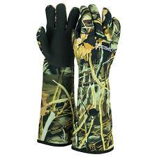Nitehawk Neoprene Camo Waterproof Fishing Decoy Gloves, High Grip & Ultra Warm