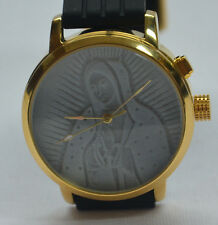 HALOTECH Virgin Mary Guadalupe Lithophane Dial Watch 3D LED ILLUMINATION 3-D NEW