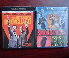 HITMAN'S BODYGUARD 4K UHD/Blu-ray + SMOKIN' ACES HORIZON #RyanReynolds #Action