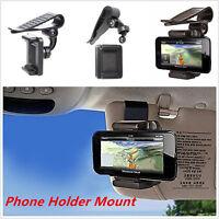 Universal Car Sun Visor Clip Mount Holder Stand Bracket For Mobile Phone GPS PDA