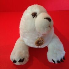 Soft White Plush Seal Pup by Wild Republic for Monterey Bay Aquarium