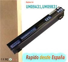 Battery for Acer Aspire One 751 H AO751 AO751H 531 AO531 ZA3 ZG8 UM09B71 UM09B31