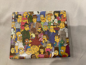 """Rare Brand New, The Simpsons """"Mighty Wallet""""(Loot Crate Exclusive) Paper Wallet"""