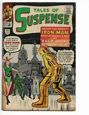 TALES OF SUSPENSE 43 - G/VG 3.0 - 4TH APPEARANCE OF IRON MAN (1963)