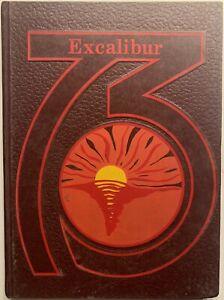 1973 TUSCALOOSA ACADEMY HIGH SCHOOL YEARBOOK, THE EXCALIBUR, TUSCALOOSA, AL