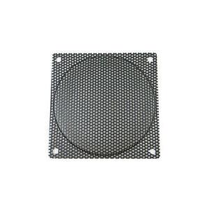 120mm Black Steel Mesh Fan Filter/Guard, Medium Hole (2.2mm)