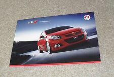 Vauxhall VXR Brochure 2009 Ed 1 - Corsa Astra Meriva Zafira Vectra VXR8