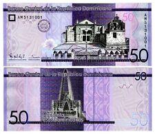 Dominican Republic 50 Pesos Uncirculated Note