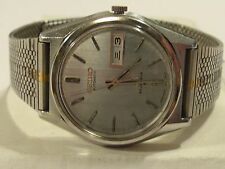 VINTAGE SEIKO 23 JEWEL MEN'S LM AUTOMATIC WATCH/GOOD COND/WR/LUMINESCENT HANDS.