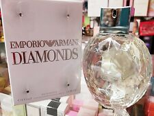 Emporio Armani Diamonds by Giorgio Armani 3.4 oz EDP Perfume for Women ** SEALED