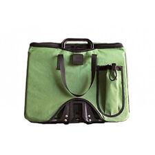 Brompton Folding Bike Front Basket Bag, Improved w/Colorful Design - Green