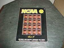 1990 NCAA Basketball Tournament Program Sweet Sixteen UNLV Alabama Crimson Tide