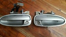 94-01 ACURA INTEGRA DRIVER & PASSENGER SIDE DOOR HANDLE SET OEM SILVER NH-583