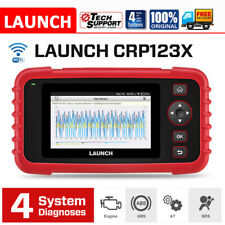 LAUNCH CRP123X Car OBD2 CAN Diagnostic Scanner Check Engine ABS SRS Transmission