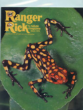 March 1978 Ranger Rick's Nature Magazine Arrow Poison Frog Cover