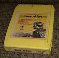 EASY RIDER HENDRIX BYRDS STEPPENWOLF 8 TRACK TAPE TESTED LATE NITE BARGAIN!