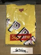 Supreme SS18 Gradient Arc Top Dark Yellow