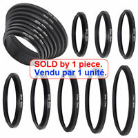 Step Up Filter Ring Adapter Mount Photo Lens / Thread 58mm Female to 37mm Male