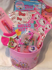 ❤️HELLO KITTY LOT Gift Basket Birthday �� Party Favors 14 pc NEW ~ 7 Available❤️