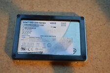 """Intel 40GB SATA Laptop 2.5"""" Internal SSD Solid State Drive SSDSA2CT040G3"""