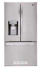 LG LFXS26973S 26.2 Cu. Ft. French Door Smart Wi-Fi Refrigerator W/Dual Ice Maker