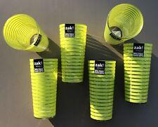 6 Piece Zak Designs Striped Juice Cups 12 Ounce Each Kiwi Green Bpa-Free Zak!