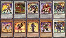 Yugioh Superheavy Samurai Deck - Flutist, Susanowo, Ogre Shutendoji, Battleball