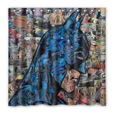 Batman marvel Comic Collage Waterproof Polyester Bathroom Shower Curtain