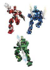 Baukästen & Konstruktion Sluban Space 2er Set Roboter blau Rot Wars #71