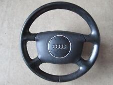 4 radios de volante de cuero audi a2 a3 8l a6 4b Facelift volante negro 8z0419091e