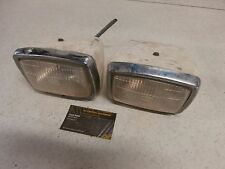 88 Yamaha Warrior 350 YFM350 2x4 Genuine Front Headlight Lamp Light Housing Set