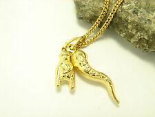 Echtschmuck-Halsketten aus Gelbgold Glück