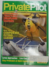 Private Pilot Magazine Where To Get A Seaplane Rating March 1992 FAL 060815R