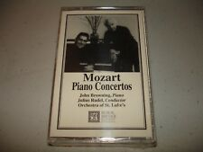 MOZART PIANO CONCERTOS John Browning, Julius Rudel (Cassette) Brand New