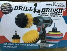 2021 Version-4 Piece Drill-brush Power Scrubber Brush Set Drill Brush Attachment