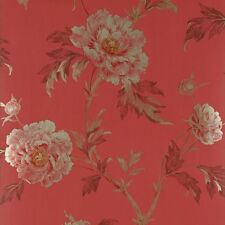 New Sealed 3 Rolls COLEFAX & FOWLER Fontenay TREE PEONY Wallpaper ENGLAND Floral