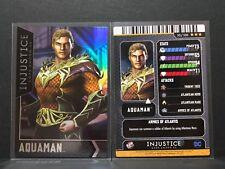 Injustice Arcade Card #50 Aquaman - FOIL - D&B