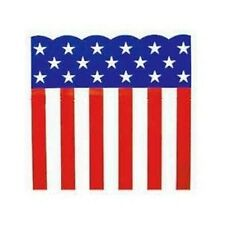 """Patriotic Plastic Bunting or Table Top Roll 150' x 29""""  Campaigns ~ July 4th"""