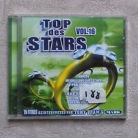 "CD AUDIO MUSIQUE / VARIOUS ""TOP DES STARS VOLUME 16"" 15T CD COMPILATION  NEUF"