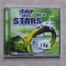 "CD AUDIO MUSIQUE / VARIOUS ""TOP DES STARS VOLUME 16"" 15T CD COMPILATION  NEUF"