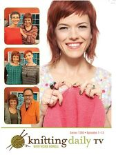 DVDs Only! Knitting Daily TV Series 1200 with Vickie Howell [4-Disc Set]