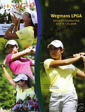 Julietta Granada signed autographed Wegman LPGA program