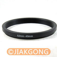 52mm-49mm 52-49 Step Down Filter Ring Stepping Adapter