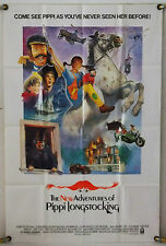 THE NEW ADVENTURES OF PIPPI LONGSTOCKING FF ORIG 1SH MOVIE POSTER (1988)