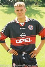 Alexander Zickler Bayern München 97-98 seltenes Foto+3