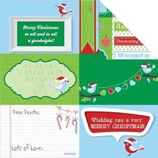Kaisercraft Santa's List Double-Sided Cardstock - 076010