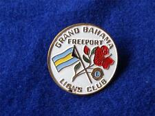 GRAND BAHAMAS FREEPORT LIONS CLUB INTERNATIONAL VINTAGE PIN