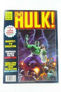 Marvel HULK Magazine (1979) #14 SIENKIEWICZ MOON KNIGHT VF (8.0) Ships FREE!